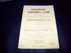 Southport Reserves v Northwich Victoria Reserves, 1994/95